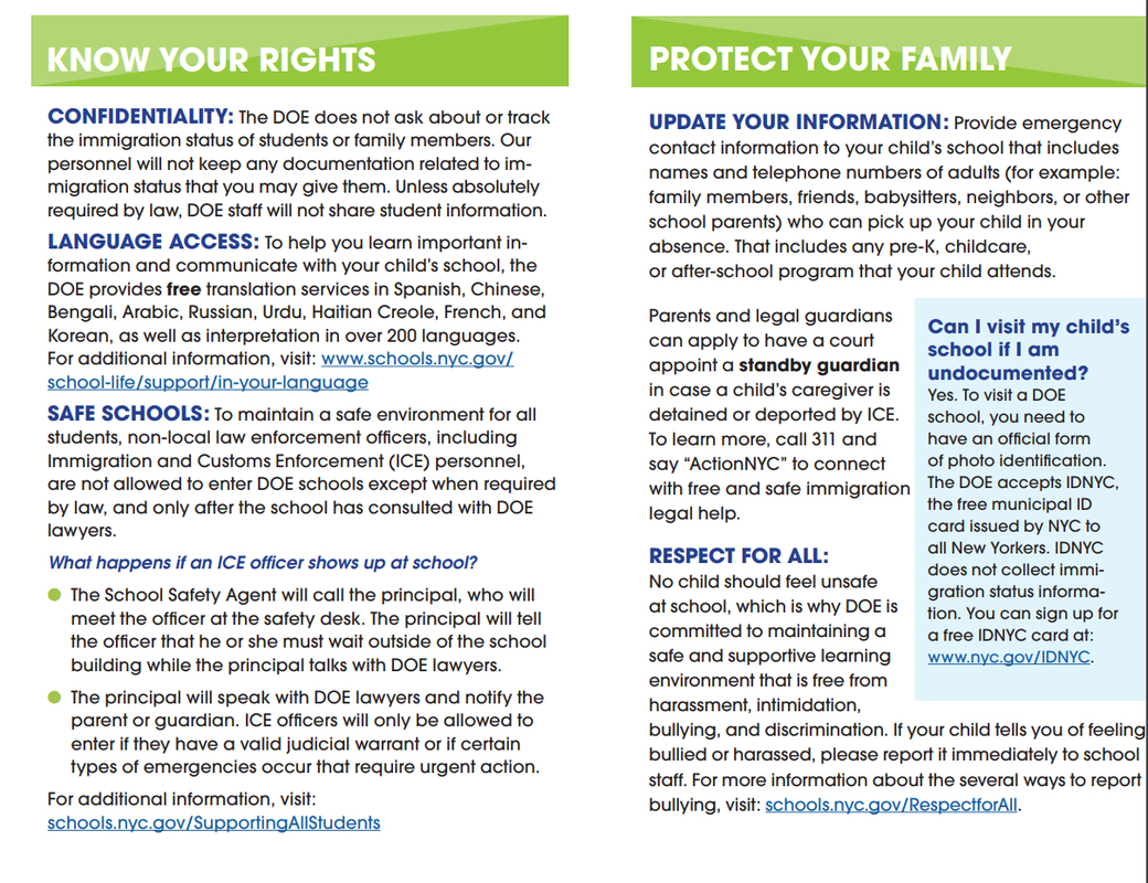 know your rights faq
